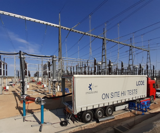 LCOE expands its on site testing capabilities with a second 260 kV 83 A resonant generator for commisioning tests on HV cable systems up to 400 kV after its installation.